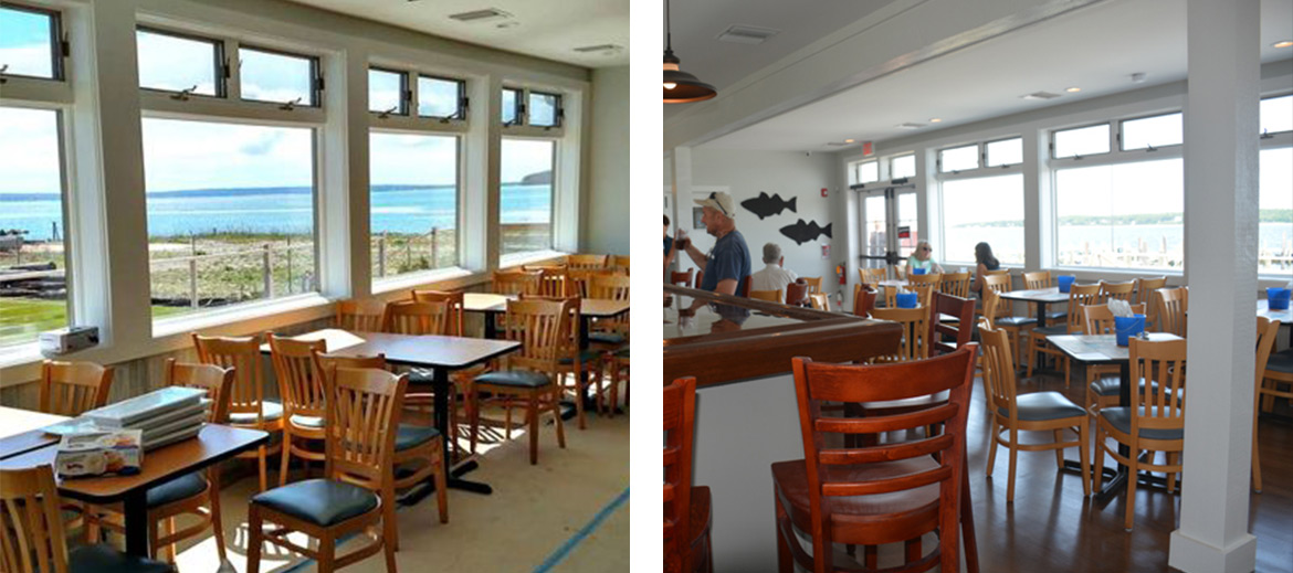 New Suffolk Waterfront Dining